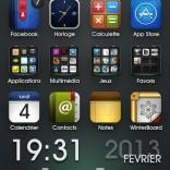 Première adaptation sur mon iPhone 5
